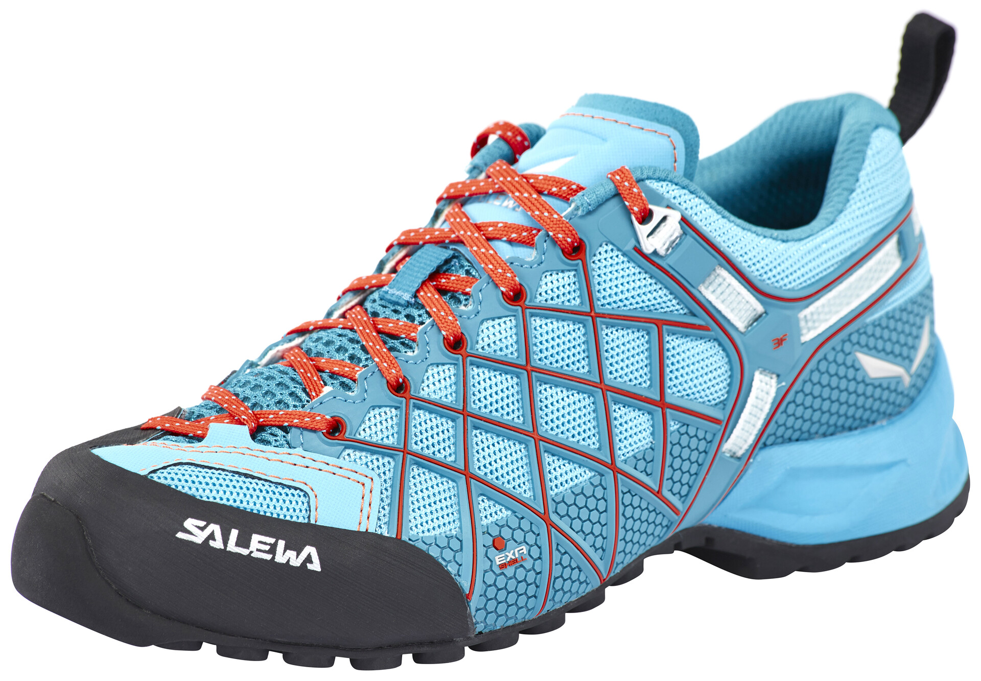 Salewa Klettergurt Größentabelle : Salewa wildfire vent approach shoes women river blue clementine